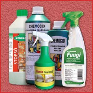 ► Penészedés, salétrom, sókivirágzás elleni szerek